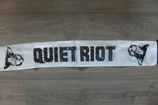 Quiet Riot Vintage music white scarf sjaal