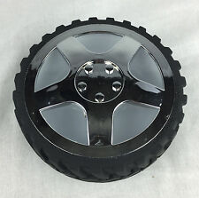 """Wrenchware 6"""" Plastic Off Road Nobby Tire Bowl for Snack, Pet Food or Storage"""