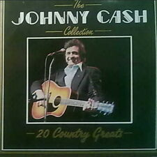 "12"" Johnny Cash 20 Country Greats Collection (Folsom Proson Blues, Hey Porter)"