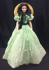 GONE WITH THE WIND VIVIEN LEIGH AS SCARLETT O'HARA, FRANKLIN MINT PORCELAIN DOLL