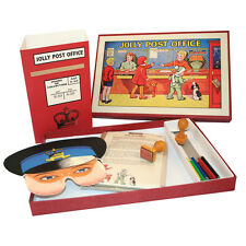 House of Marbles Jolly Post Office Play Set Features Retro Vintage 1950's Look