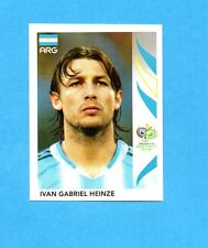 PANINI-GERMANY 2006-Figurina n.174- HEINZE - ARGENTINA -NEW BLACK