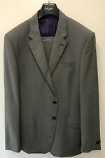 Paul Smith TRAVEL SUIT BYARD Mid Grey Slim Fit UK44L EU54L RRP £725