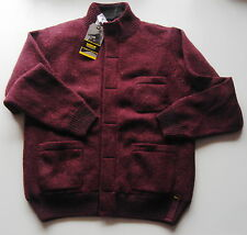 mens BARBOUR INTERNATIONAL CYCLOCROSS KNITTED JACKET MERLOT Large motorcycle NEW
