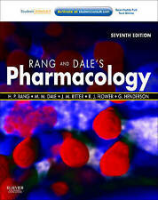 Rang & Dale's Pharmacology: with STUDENT CONSULT Online Access, 7e, Good Conditi