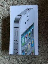 Apple Iphone 4S White 32 GB BOX ONLY FREE SHIPPING