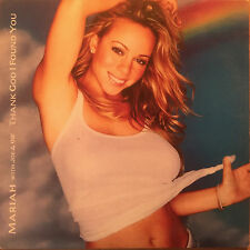 "MARIAH CAREY-""THANK GOD I FOUND YOU""-JOE-98Degrees-RARE CARD CD SINGLE 2000-NEW"
