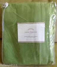 NWT Pottery Barn Torrey Wicker Coffee Grand Ottoman Cushion Slipcover Green