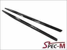 Performance Style Carbon Fiber Extension Side Skirts Lip For BMW F22 M235i