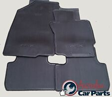 MITSUBISHI ASX Manual Rubber Floor Mats Brand New Genuine 2010-2016 XA XB BLACK