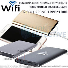 spy cam power bank hd wifi p2p powerbank controllo cellulare 1920*1080p camera