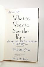 Signed First Edition What to Wear to See the Pope: Stories - Lehner, Christine C