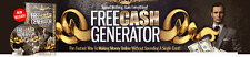 Free Cash Generator- The Fastest Way To Make Money Online- Video Course  on 1 CD