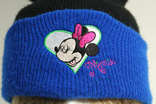 Disney MINNIE MOUSE Knit Sweater Cap Hat Ski Snow WinterToboggan Cold Weather