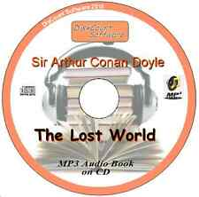 The Lost World  - Sir Arthur Conan Doyle MP3 Audio Book 16 episodes on CD