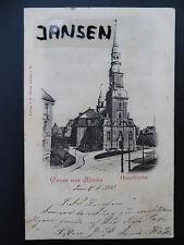 AK Hamburg Altona Hauptkirche