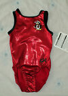 NEW W/Tag GK Elite Red w/Penguin Leotard Size Adult XS AXS Great 4 Gift