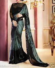 Saree Exclusive Beautiful Designer Bollywood Indian Saree Partywear Sari 172