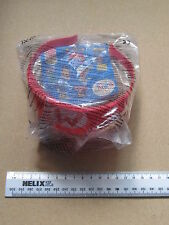 "McDONALD'S HAPPY MEAL SUPERMARIO RED PLASTIC ""M"" CAP NEW SEALED ITEM COLLECTABLE"