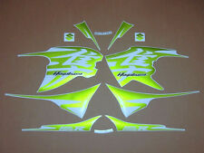 GSX 1300R Hayabusa 2011 custom green full decals stickers graphics kit set 1340
