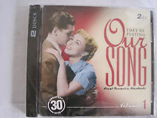 THEY'RE PLAYING OUR SONG - GREAT ROMANTIC STANDARDS VOL 1 -- 2-CD SET - NEW