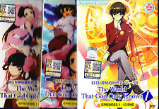 "*NEW* ""THE WORLD GOD ONLY KNOWS"" SEASONS 1 thru 3 *ENG SUBS*ANIME DVD*US SELLER*"