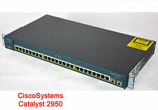 CISCO CATALYST 2950  24-PORT 10/100 FE MANAGED NETWORK SWITSH #I24