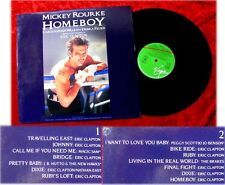 LP Homeboy Soundtrack Mickey Rourke Eric Clapton