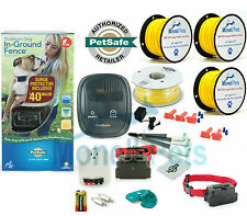 PETSAFE STUBBORN LARGE DOG 2 DOGS FENCE ELECTRIC UNDERGROUND IN-GROUND  2000 ft