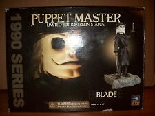 blade resin statue puppet master full moon toys