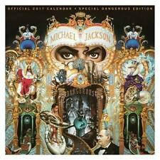MICHAEL JACKSON OFFICIAL 2017 UK SQUARE WALL CALENDAR + FREE UK POSTAGE