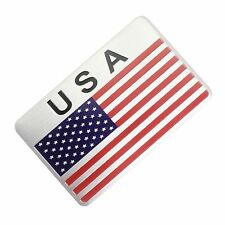 Metal America USA National Flag Rear Badge Sticker Emblem Decal Side Cadillac