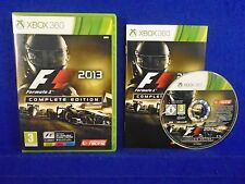 xbox 360 F1 2013 COMPLETE EDITION + Classic Tracks Formula 1 One PAL REGION FREE