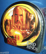 LORD OF THE RINGS Jigsaw Puzzle 500 piece EVIL FORCES  in COLLECTOR TIN BNIB