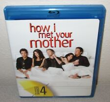 HOW I MET YOUR MOTHER Season 4 3 Blu-Ray Set watched once Neil Patrick Harris