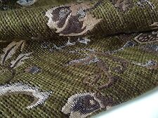 "NEW Italian GORGEOUS Chenille JACQUARD Cloque Fabric 60""153cm Belle Gabbana She"