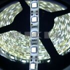 5M 24V Waterproof 5050 SMD White 300 LED Strip Light Lamp + Tracking number E