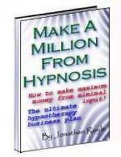 Hacer un millón de £ £ £ £/$$$$de hipnoterapia hipnosis & Hipnotismo