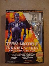 "RARE 1995 TERMINATOR 2 JUDGEMENT DAY 15"" ENDOSKELETON BY TOY ISLAND WITH BOX"