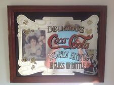 Vintage 5 Cent Coca Cola Mirror