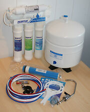 50GPD Reverse Osmosis Undersink Drinking Water Filter + EXTRA SET OF CARTRIDGES