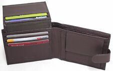 RFID Sleeve Free. Quality Full Grain Cow Hide Leather Wallet. Style No: 12001.