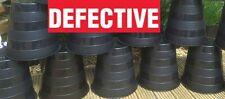 10L Litre Plant Pots x 10 - Used / Defective