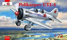 Amodel 72314 Polikarpov UTI-4. Re-release 1/72
