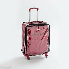 "Blasani™ ""S"" Luggage Cover Protector Suitcase Clear PVC Cover Fits 20""~21"" Bags"