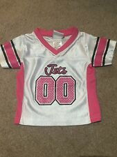 NY Jets 12 Months Pink White Jersey Girls