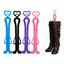 1X Hot Plastic Long Boot Trees Shaper Stretcher Organizer Storage Accessories