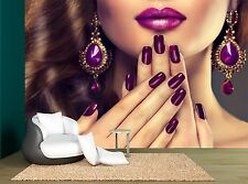 Luxury Fashion Style Nails Manicure  Wall Mural Photo Wallpaper GIANT WALL DECOR