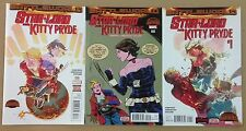 Starlord and Kitty Pryde 1 2 3 Marvel Secret Wars Lot of 3 books Guardians
