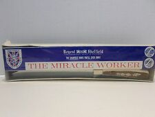 Vtg The Miracle Worker Knife Regent Sheffield The Sharpest Knife You'll Ever Own